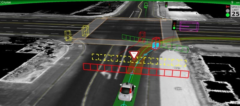 Illustration for article titled Google Will Now Tell You When Its Driverless Cars Crash
