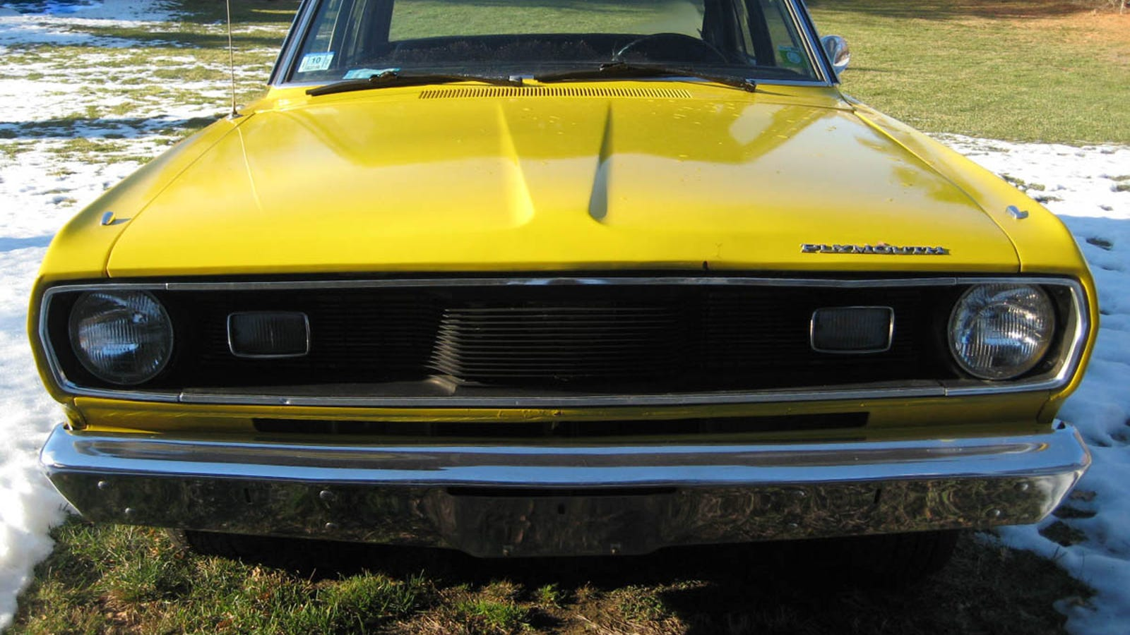Personal Project Car Hell Edition 1972 Plymouth Valiant 1960 For Sale