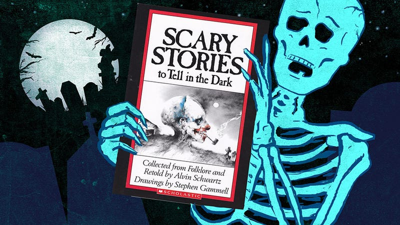Illustration for article titled Who Let Us Read the Horrifying Scary Stories to Tell in the Dark?