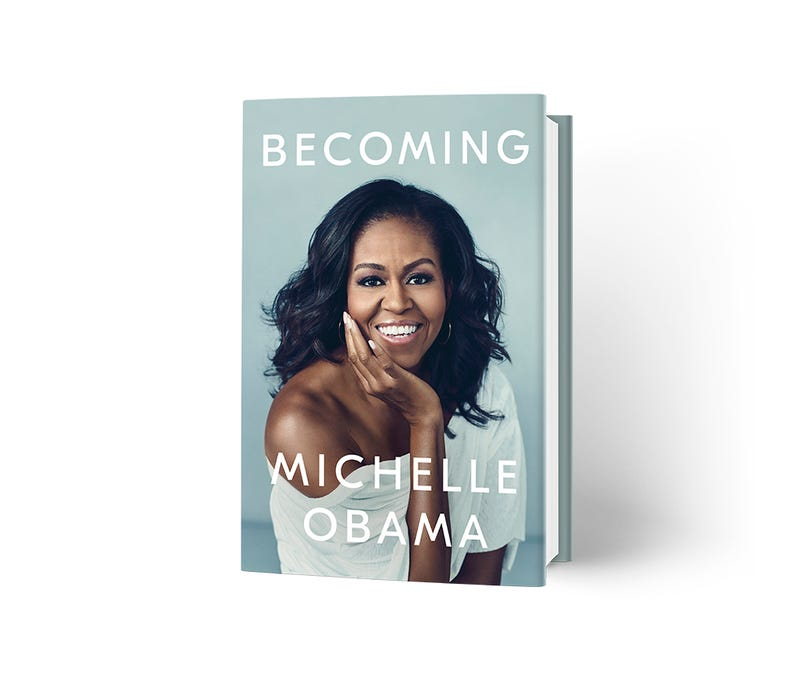 Illustration for article titled Our Forever First Lady, Michelle Obama, Reveals Stunning Cover for Upcoming Memoir,Becoming