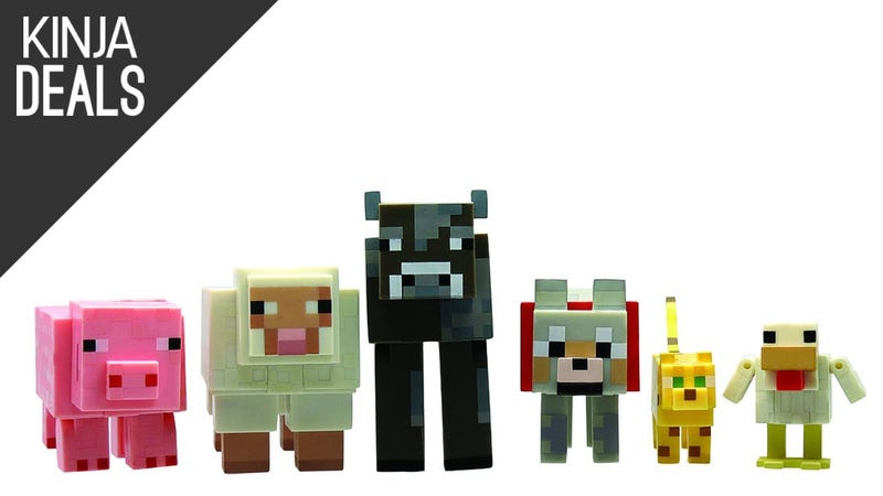 Illustration for article titled This Adorable Minecraft Menagerie is Back on Sale