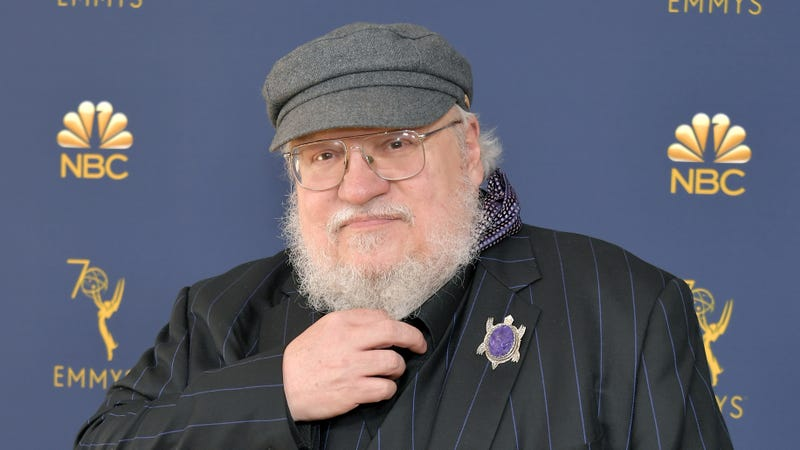 Illustration for article titled George R.R. Martin is happy to talk about hats, Big Bang Theory, really anything that's not his next goddamn book