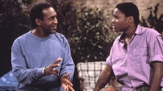 Bill Cosby as Cliff Huxtable and Malcolm-Jamal Warner as Theo in The Cosby ShowImdb.com