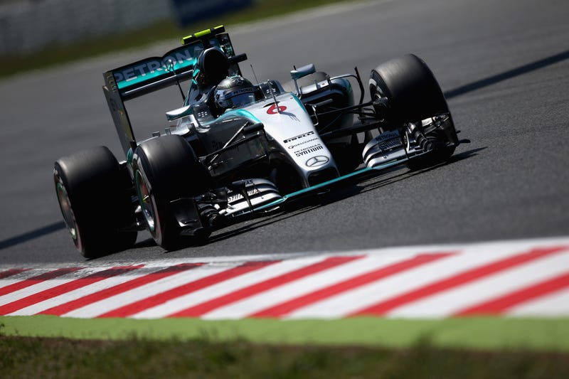 Illustration for article titled Nico Rosberg Takes Pole Position At Spanish Grand Prix