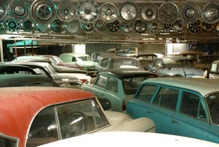 Amazing Barn Find Aussie Man Hoards 297 Classic Cars