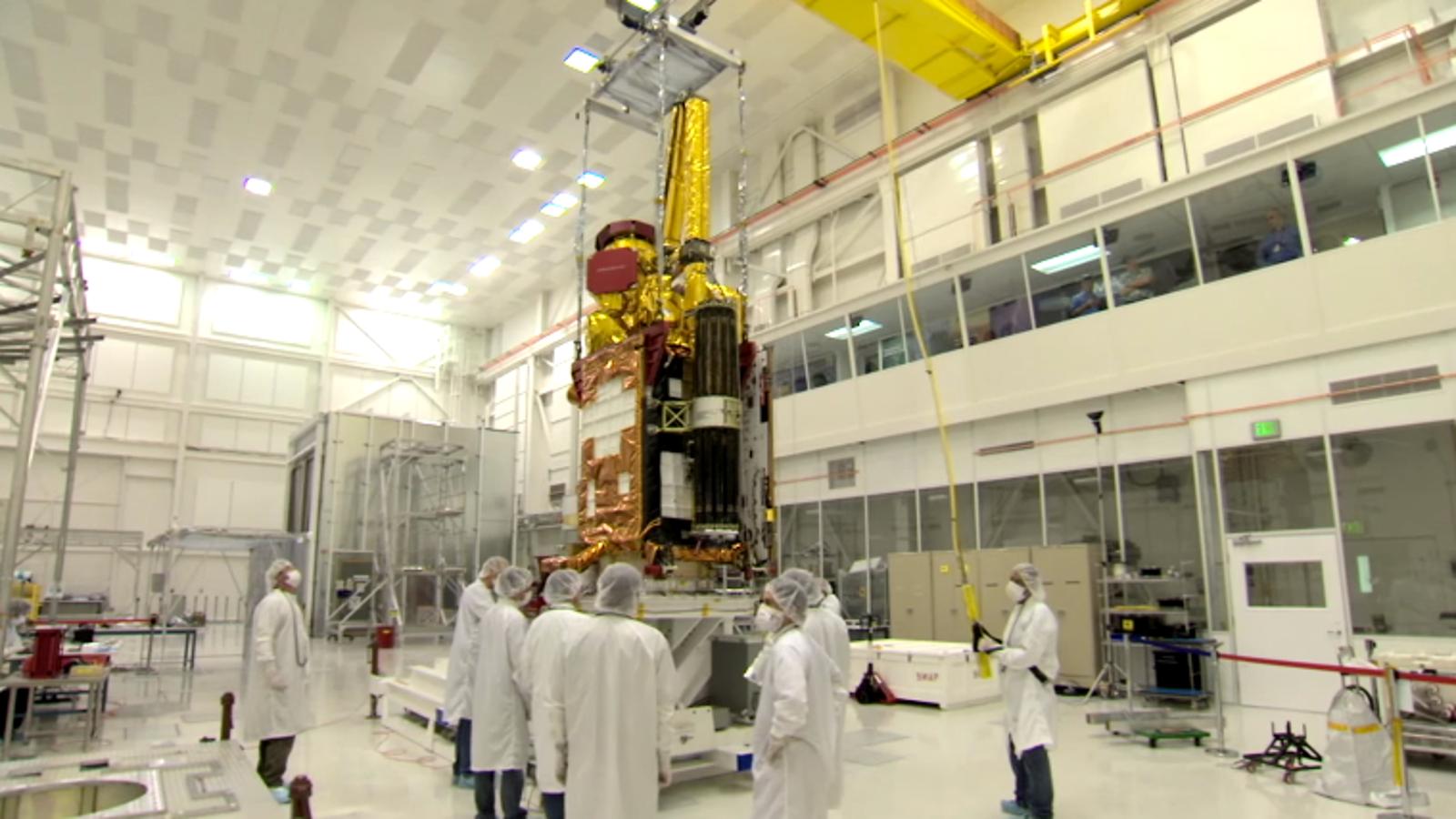 Este nuevo satélite medirá el agua del subsuelo para entender el clima