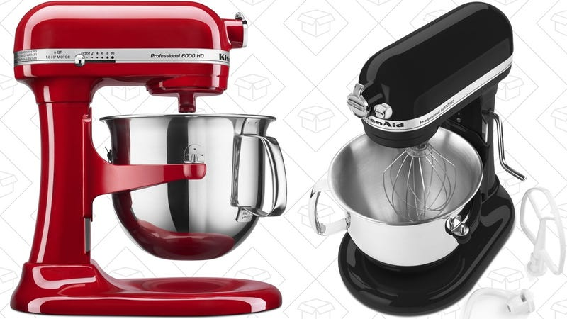 KitchenAid Professional 6 Quart Stand Mixer   $230   Amazon
