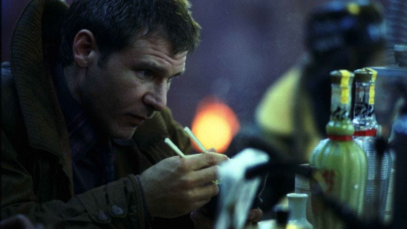 Illustration for article titled Blade Runner 2 tells Harrison Ford it needs the 71-year-old blade runner, his magic