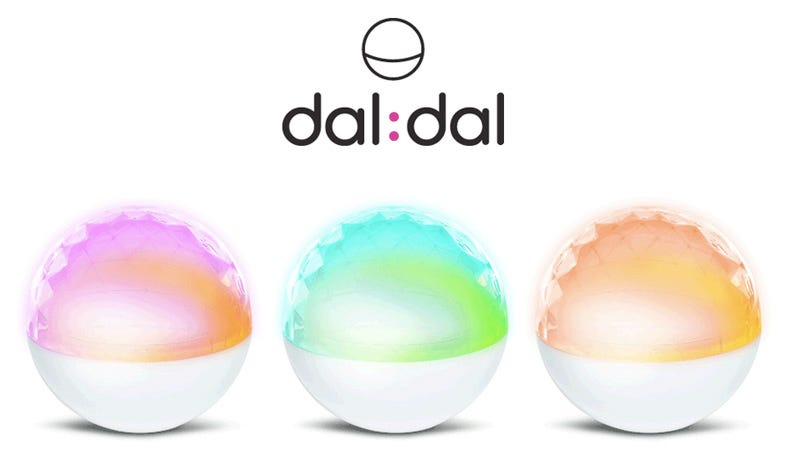 Illustration for article titled Dal Dal Internet Connected Lamp Conveys Info Via Colors, Beep Bloops