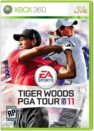 Illustration for article titled Tiger Woods to Share Cover of Tiger Woods Game