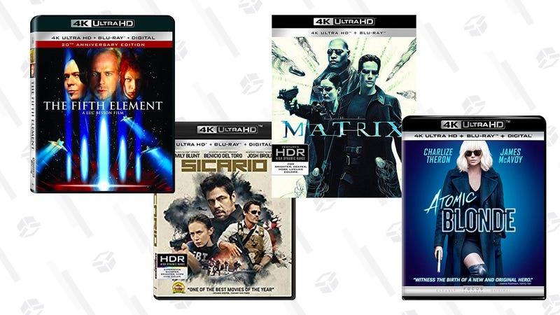 4K Movie Sale | $15 | Amazon | Prime members only