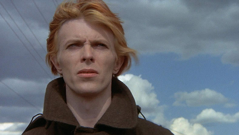 David Bowie in 1976's The Man Who Fell to Earth.