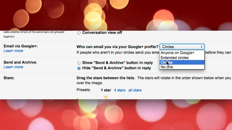 Illustration for article titled How to Disable Gmail's New Feature that Let Google+ Users Email You