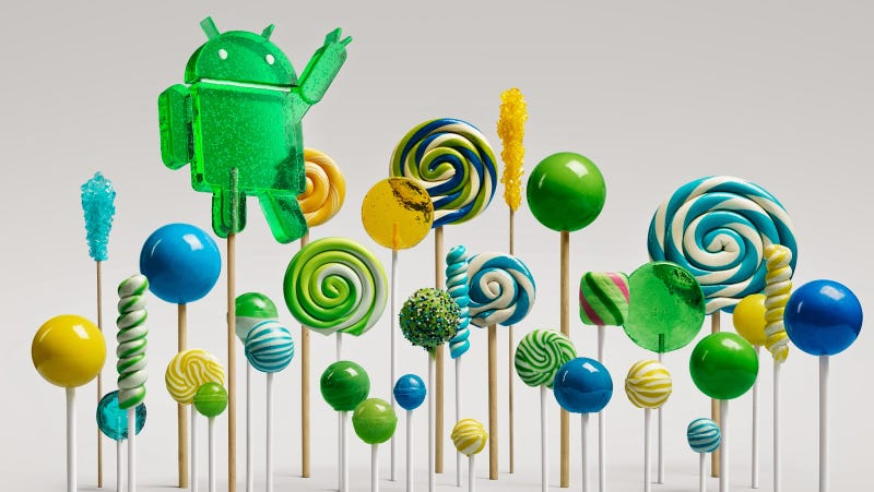 Illustration for article titled Android 5.0 Lollipop: More Than Just Material Design