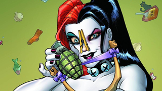 Illustration for article titled DC are releasing a bizarre 'Scratch and Sniff' Harley Quinn Comic