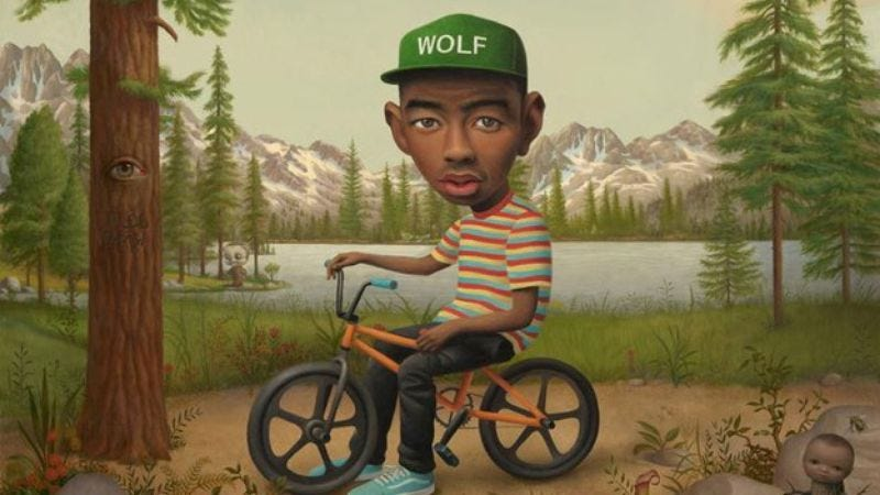 """Illustration for article titled Watch Tyler The Creator wrestle in his new video for """"Domo 23"""""""