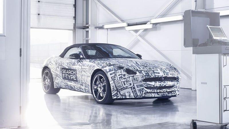 Illustration for article titled Jaguar F-Type Gallery