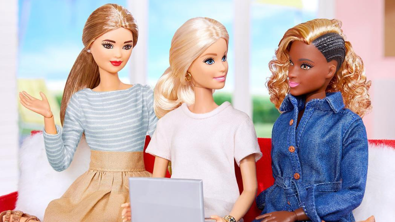 Illustration for article titled 'Around the Way' Barbie, Is That You? What's Really Going On With This Black Barbie's Hair?