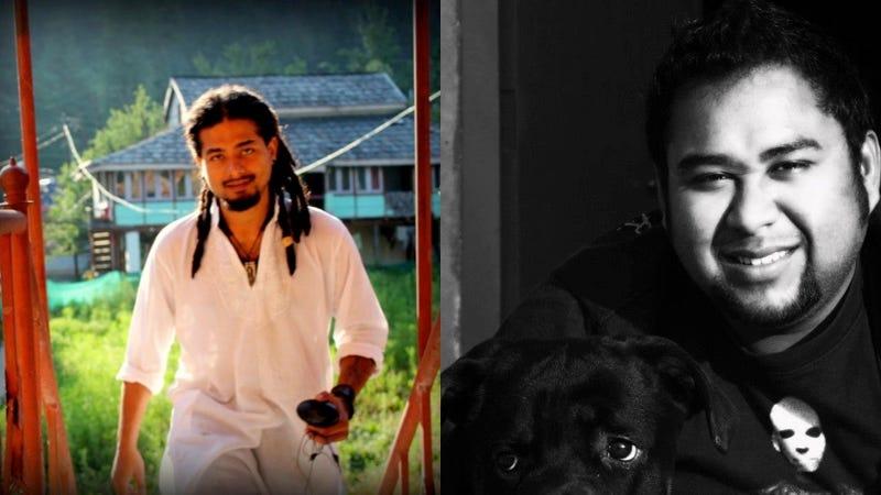 Nilotpal Das y Abijeet Nath en fotos de Facebook