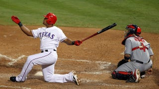 Illustration for article titled Of Bad Mechanics And Torn Testicles; Or, Why I Love Adrian Beltre