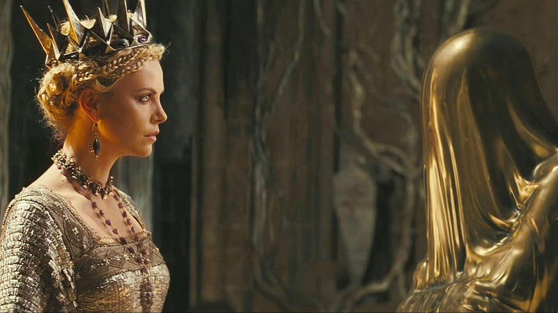 Illustration for article titled Latest Snow White and the Huntsman footage reveals just why the Evil Queen must kill Snow White!
