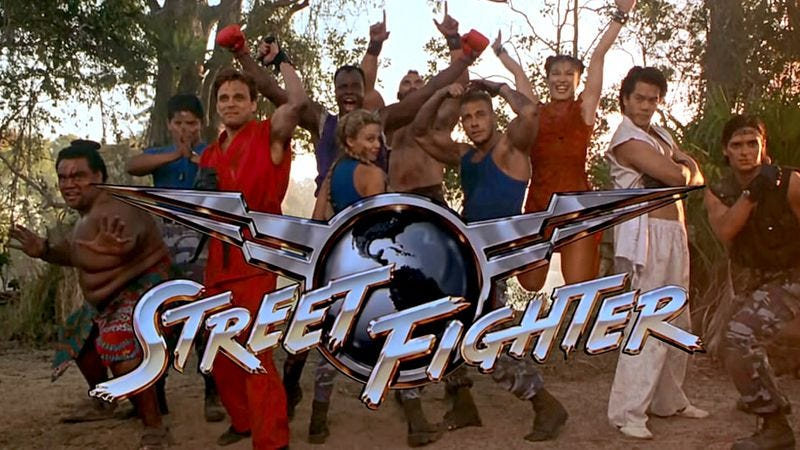 Illustration for article titled Read This: There's a reason the Street Fighter movie was so awful