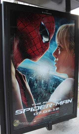 Illustration for article titled New Gwen/Spidey Poster From The Amazing Spider-Man
