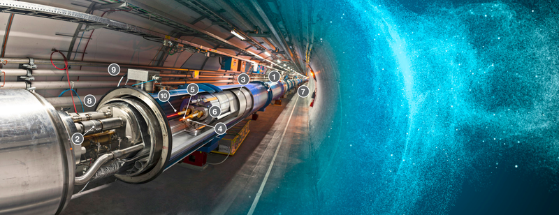 Illustration for article titled The Large Hadron Collider Is Back, Baby