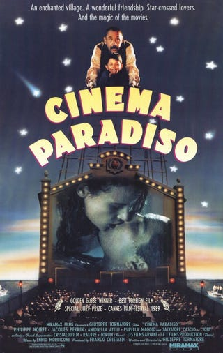 Illustration for article titled Your (Original) Movie Guide to Movies You Should Watch Again: Cinema Paradiso
