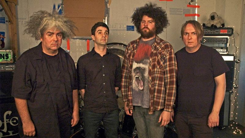 "Melvins' Buzz Osborne picks songs by ""bands that were good, but blew it"""