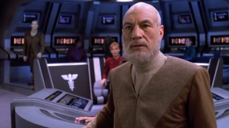We're also fairly certain Picard won't have a beard in his new show.