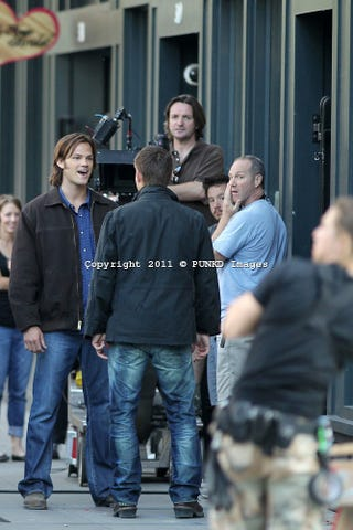 Illustration for article titled Supernatural season 7 set photos