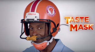 Jerry Rice Popeyes commercial via YouTube screenshot