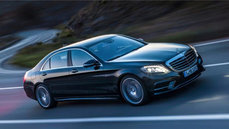 Illustration for article titled Daimler Thinks Its LED Lights Can Help Meet CAFE Targets