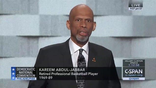 Kareem Abdul-Jabbar Reminds Donald Trump That He's Not Michael Jordan