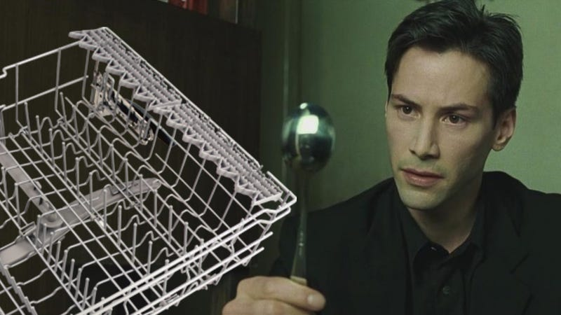 Adjust Your Top Dishwasher Rack Height Like a God of Time