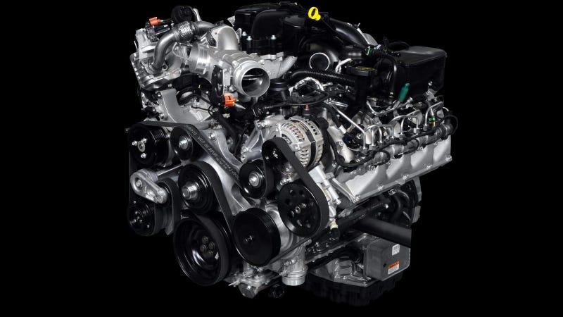 Illustration for article titled Ford Installs 500,000th 6.7-Liter Powerstroke V8 Turbocharged Diesel Engine