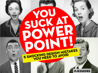 Illustration for article titled Five Ways to Not Suck at PowerPoint