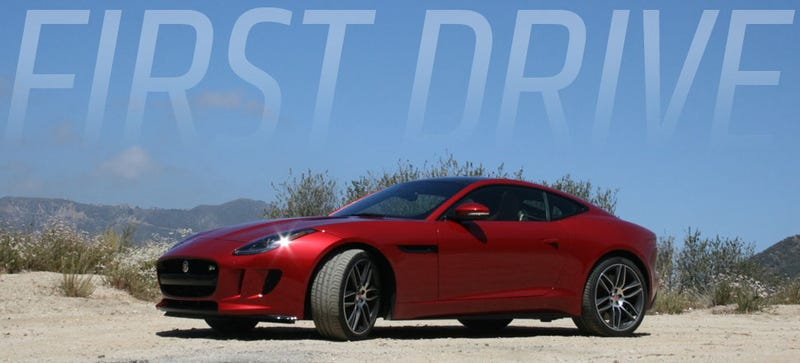 Illustration for article titled Why The Jaguar F-Type Coupe Is An Even Better Drive Than The 'Vert