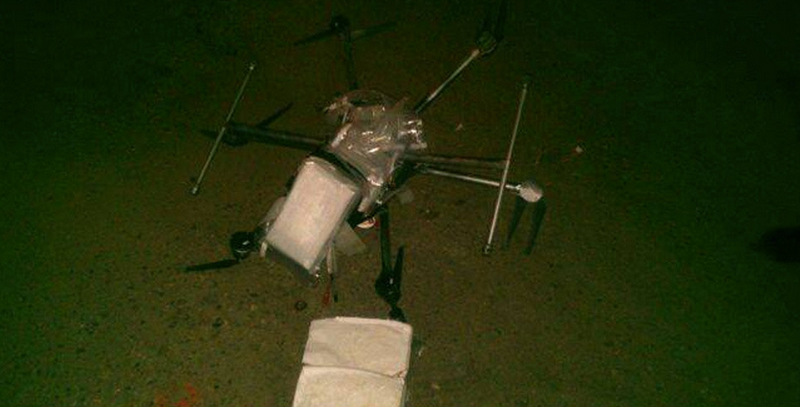 Illustration for article titled This Drone Crashed While Trying to Deliver 6lbs of Meth