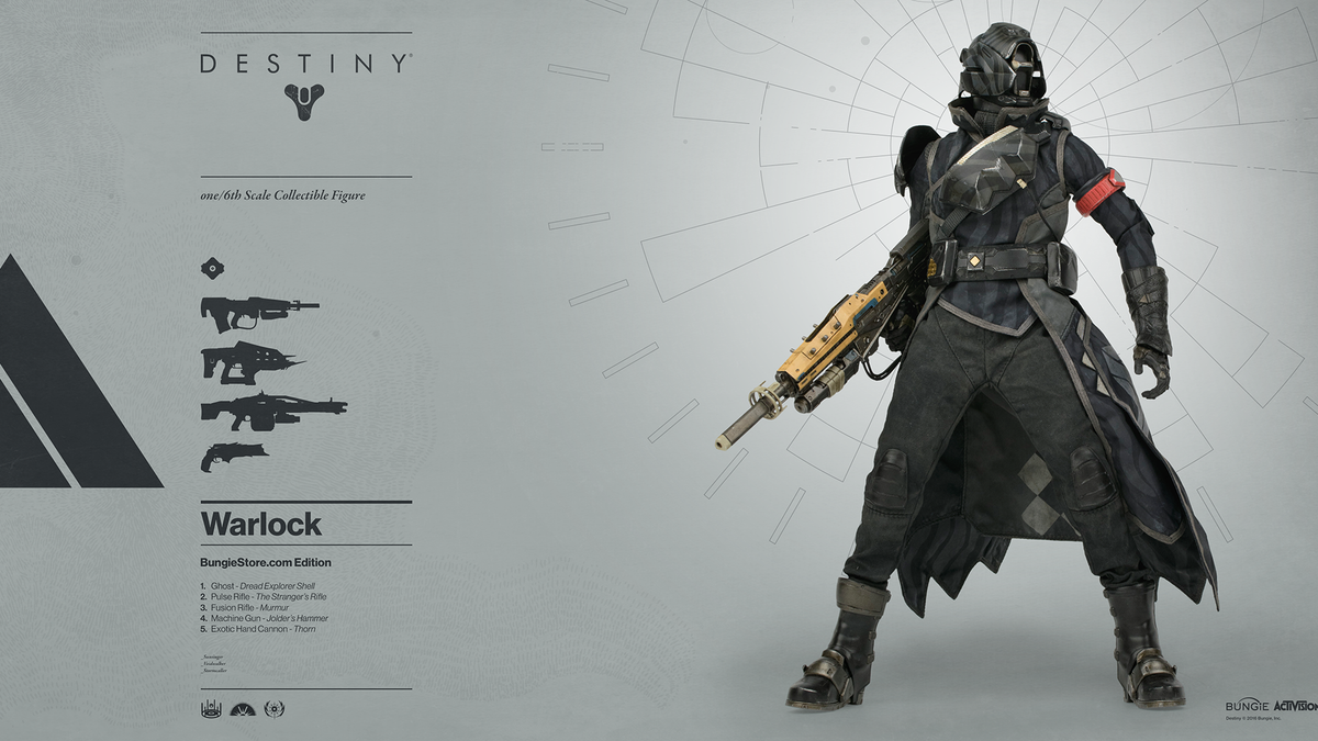 Look At These Destiny Action Figures