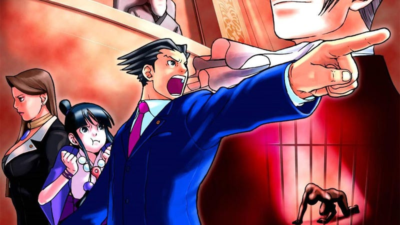 Illustration for article titled Is One of Japan's Bloodiest Directors Working on an Ace Attorney Movie?