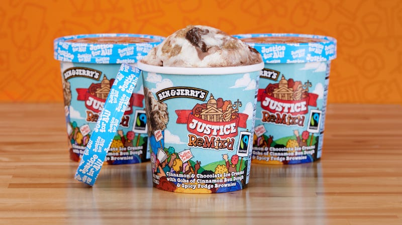 Illustration for article titled Ben & Jerry's Takes on Criminal Justice Reform with New Flavor, Justice Remix'd