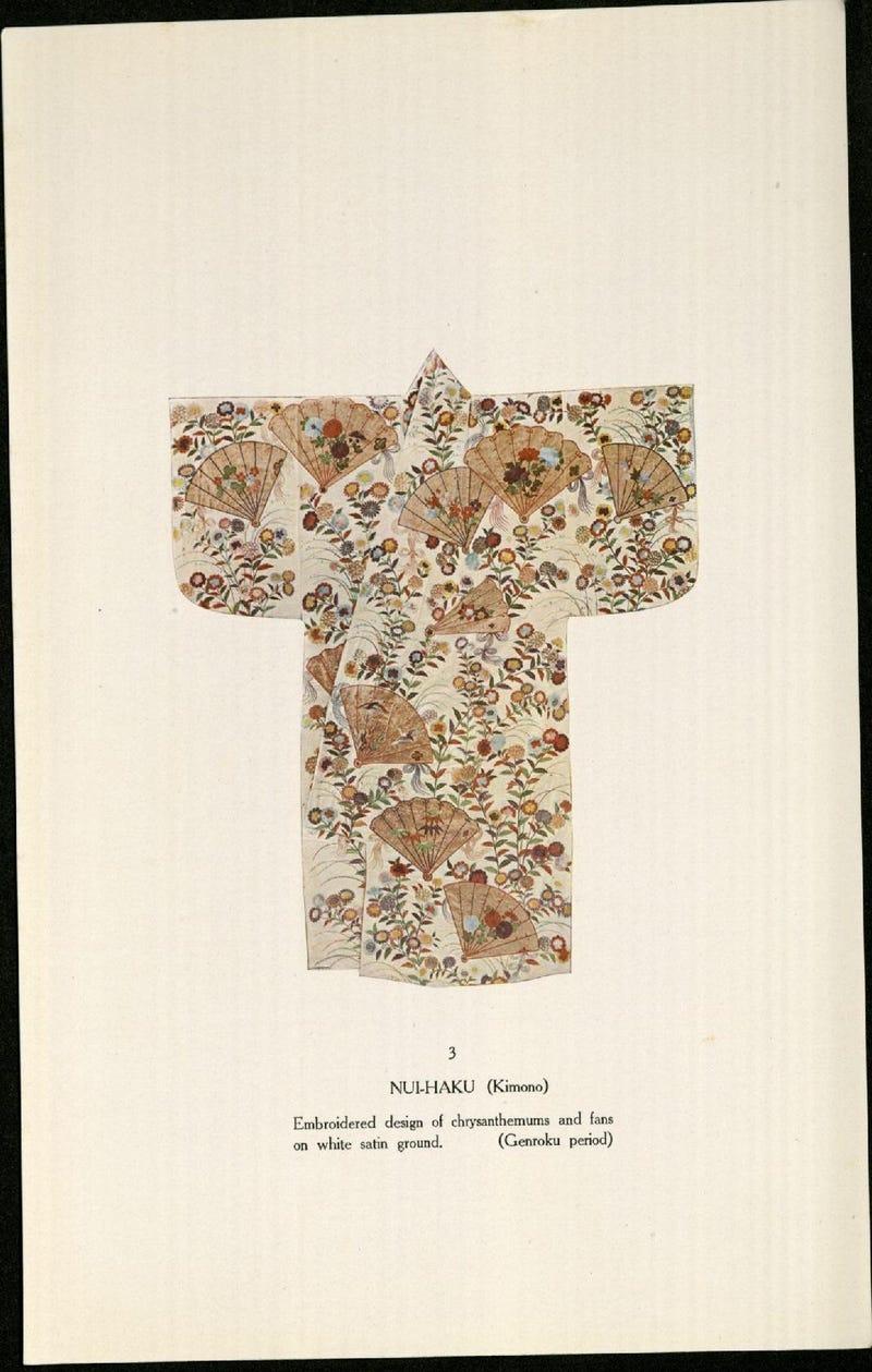 Illustration for article titled Noh Kimono