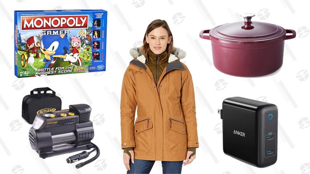 Monday s Best Deals: Presidents Day Sales, Cooks Signature Dutch Oven, Sonic the Hedgehog Monopoly, and More