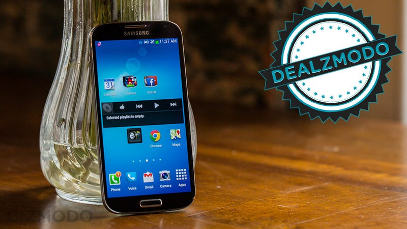 Illustration for article titled An Unlocked Samsung Galaxy S4 Is Your Deal of the Day