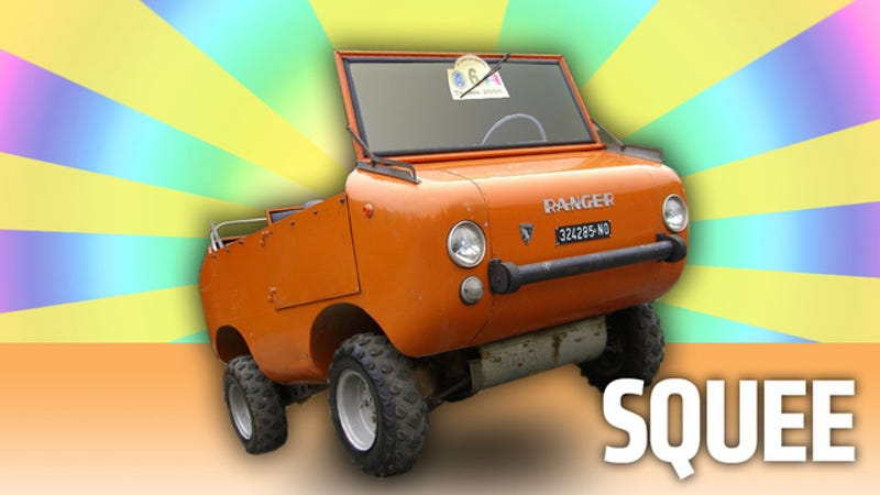 Illustration for article titled The Ferves Ranger Is The Mostest Cutest Off-Roader Ever