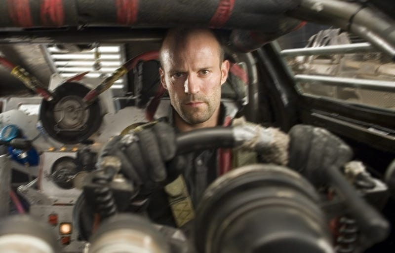 Illustration for article titled First Official Death Race Screen Shot Features an Intense-Looking Jason Statham
