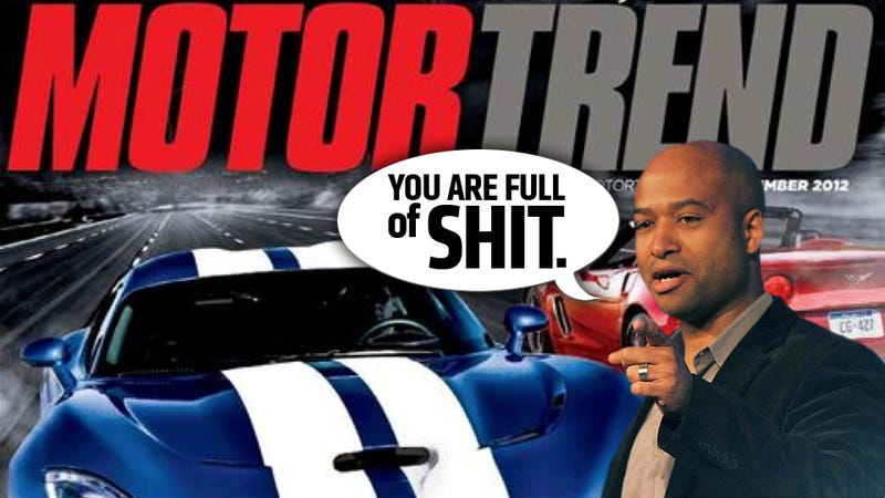 Illustration for article titled Ralph Gilles Calls Out Motor Trend Driver For Being Afraid Of The Viper