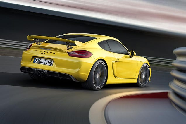 Kc Car Gallery >> Cayman GT4 spoiler on 987??
